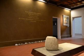 parete e installazione in argilla (stanza Bellintani)