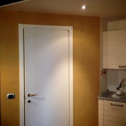 sala cucina in argilla